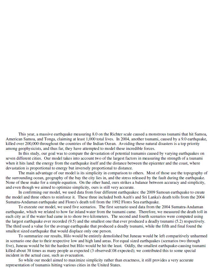 2009HIMCM数模竞赛B题论文2340