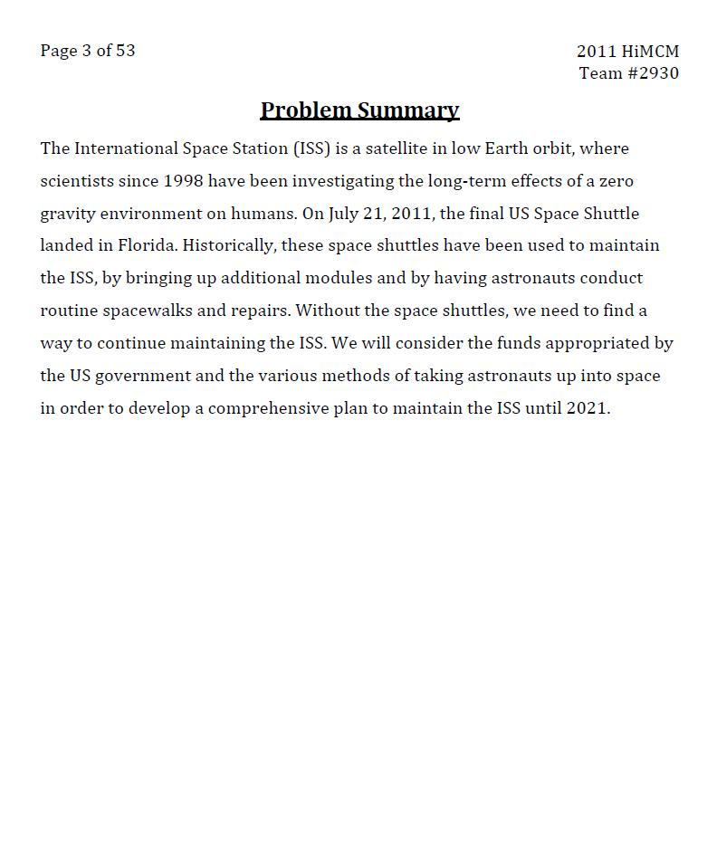 2011HIMCM数模竞赛A题论文2930
