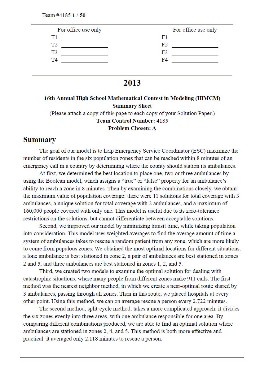 2013HIMCM数模竞赛A题论文4185
