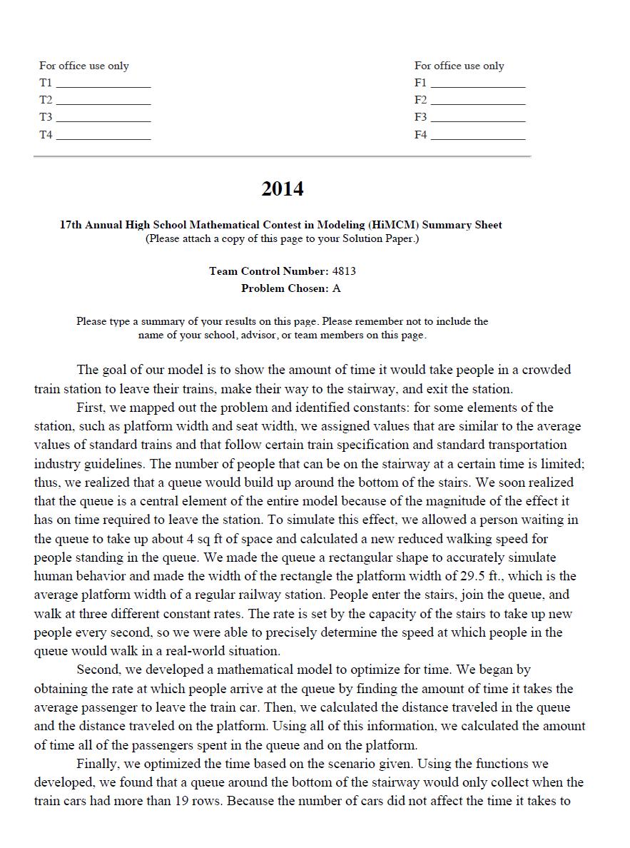 2014HIMCM数模竞赛A题论文4813