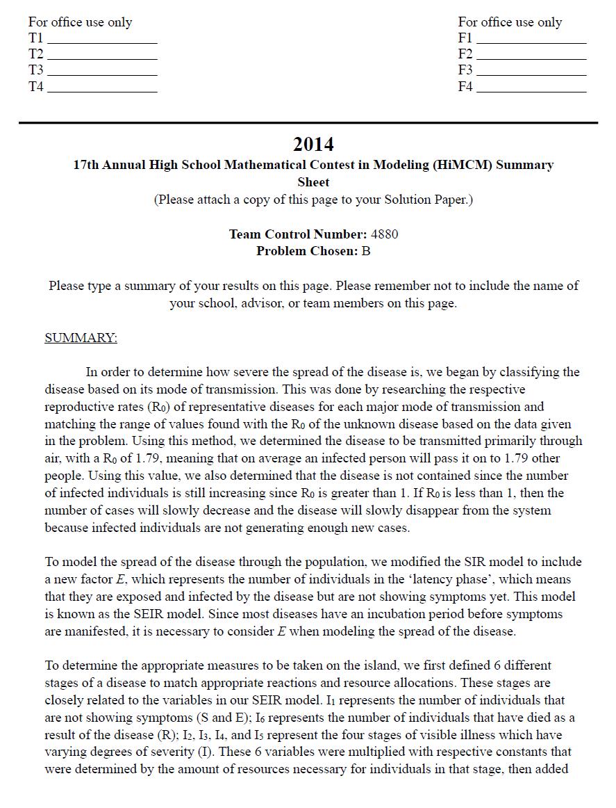 2014HIMCM数模竞赛B题论文4880