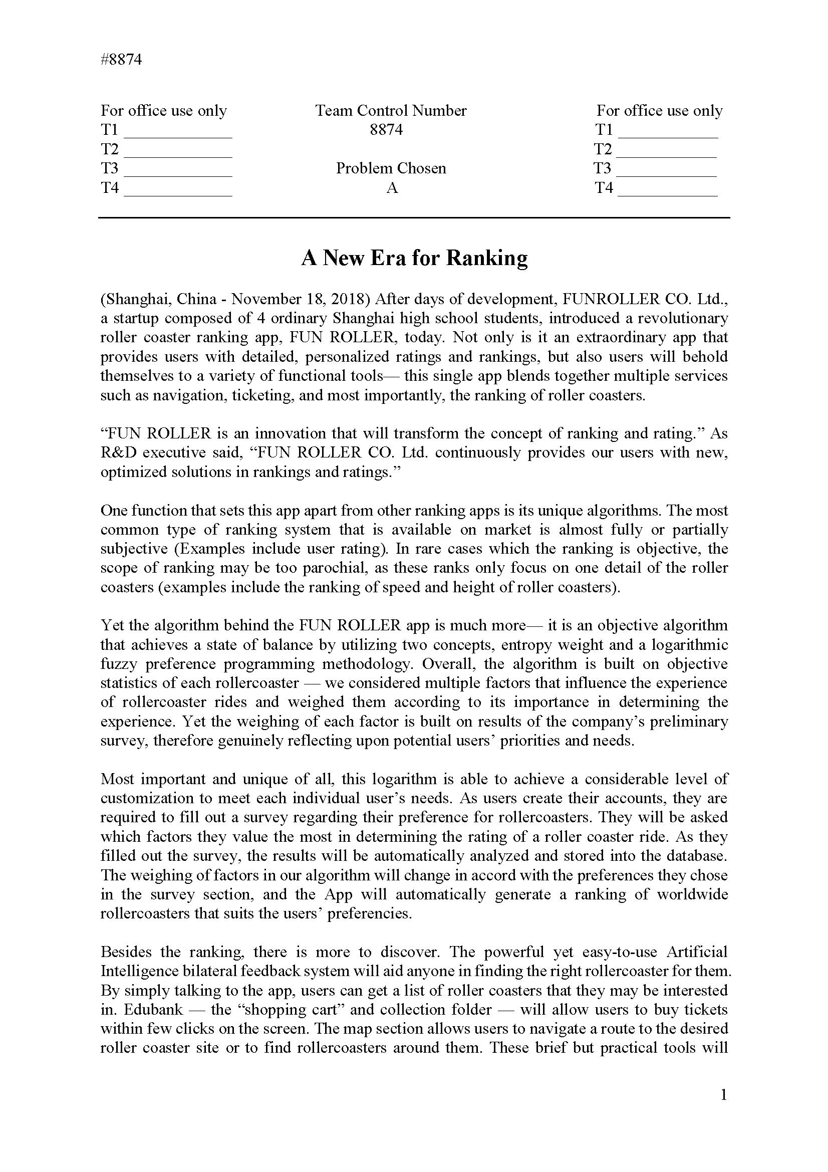 2018HIMCM数模竞赛A题论文8874
