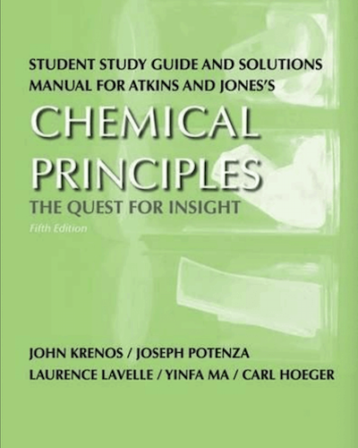 atkins chemical principles study guide
