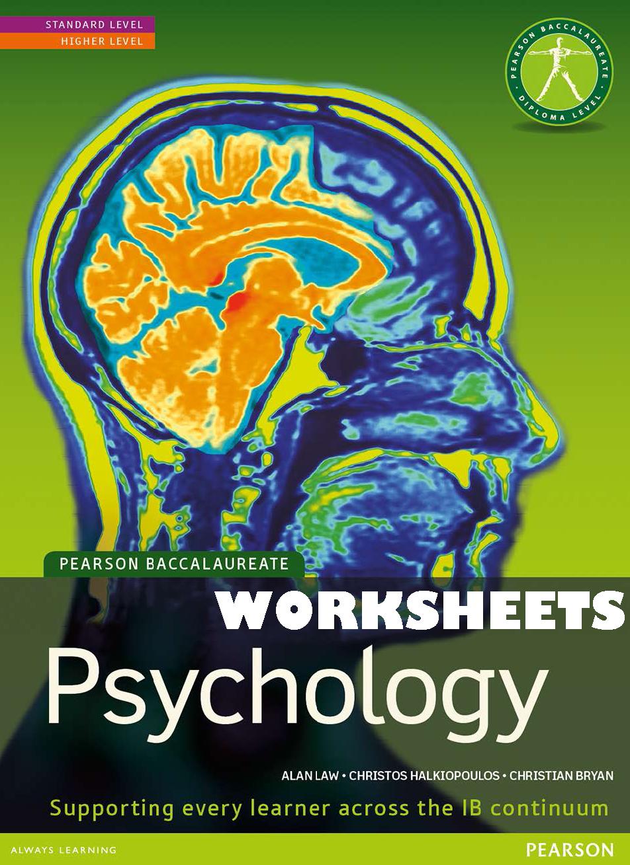 历年国际IB psychology课程教材课本