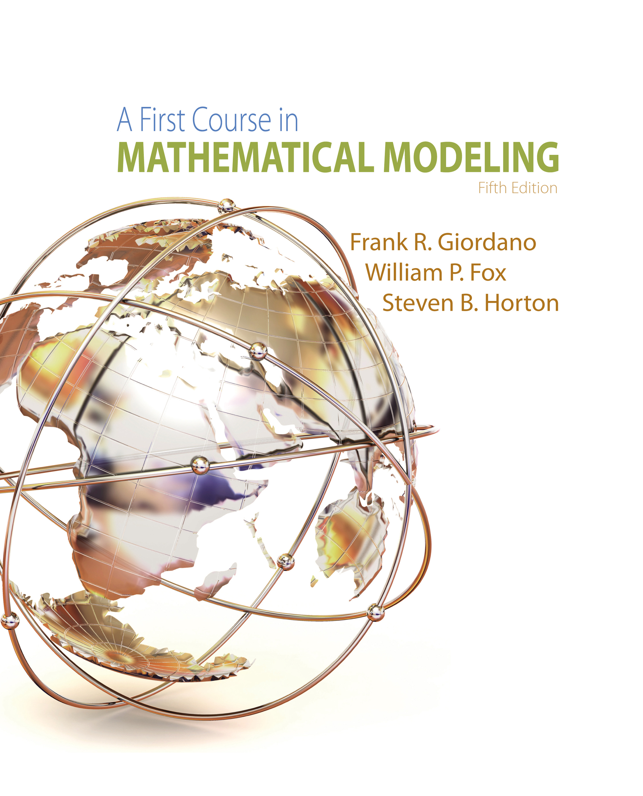 A First Course In Math Modeling HiMCM/MCM/ICM美国数学建模