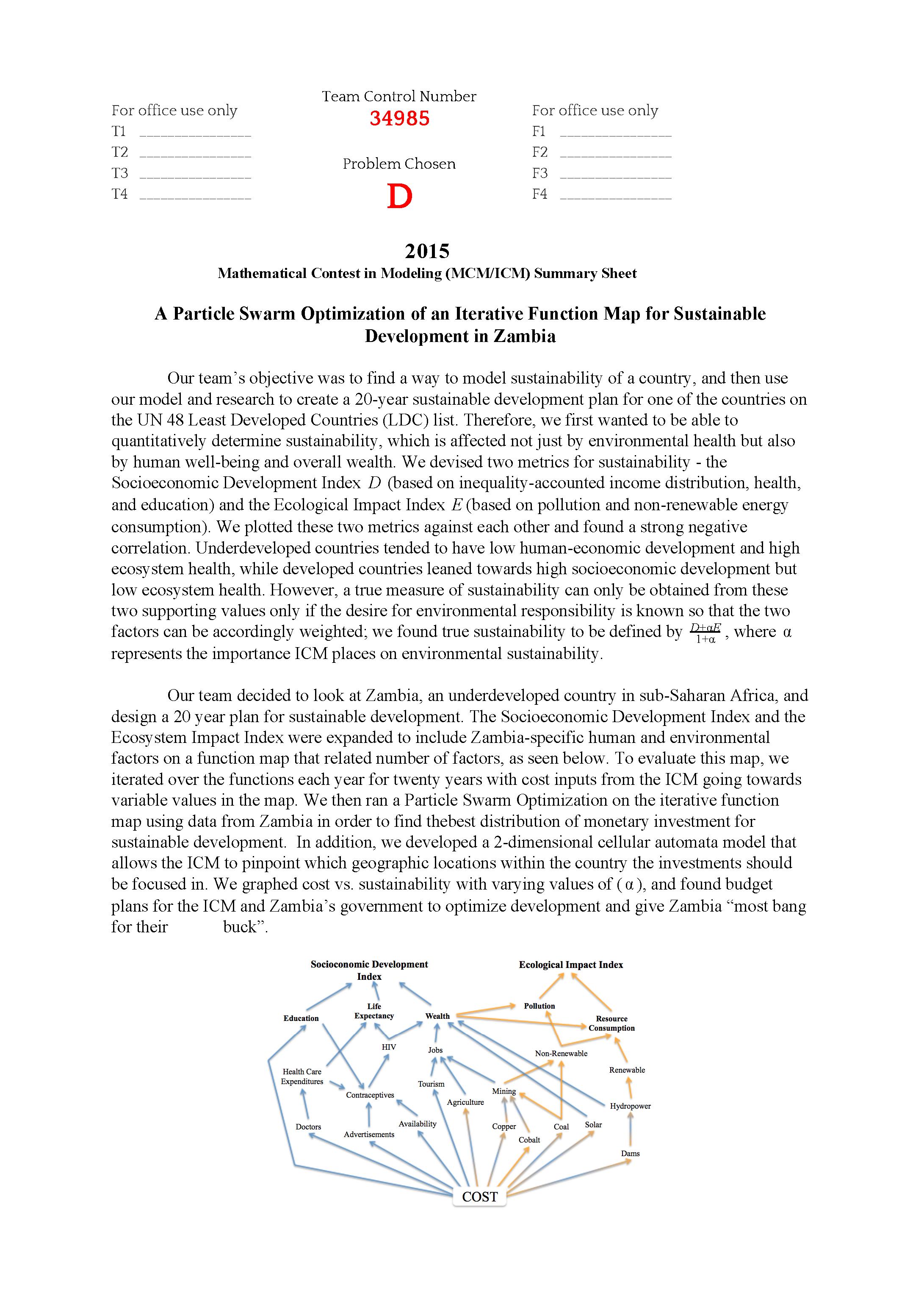 2015ICM数模竞赛E题论文34985