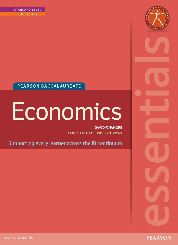 历年国际IB Economics课程教材课本