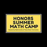 2020 Honors Summer Math Camp 德州州立大学荣誉数学营