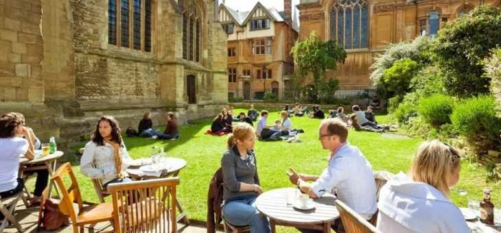 牛津剑桥学院混合排名公布