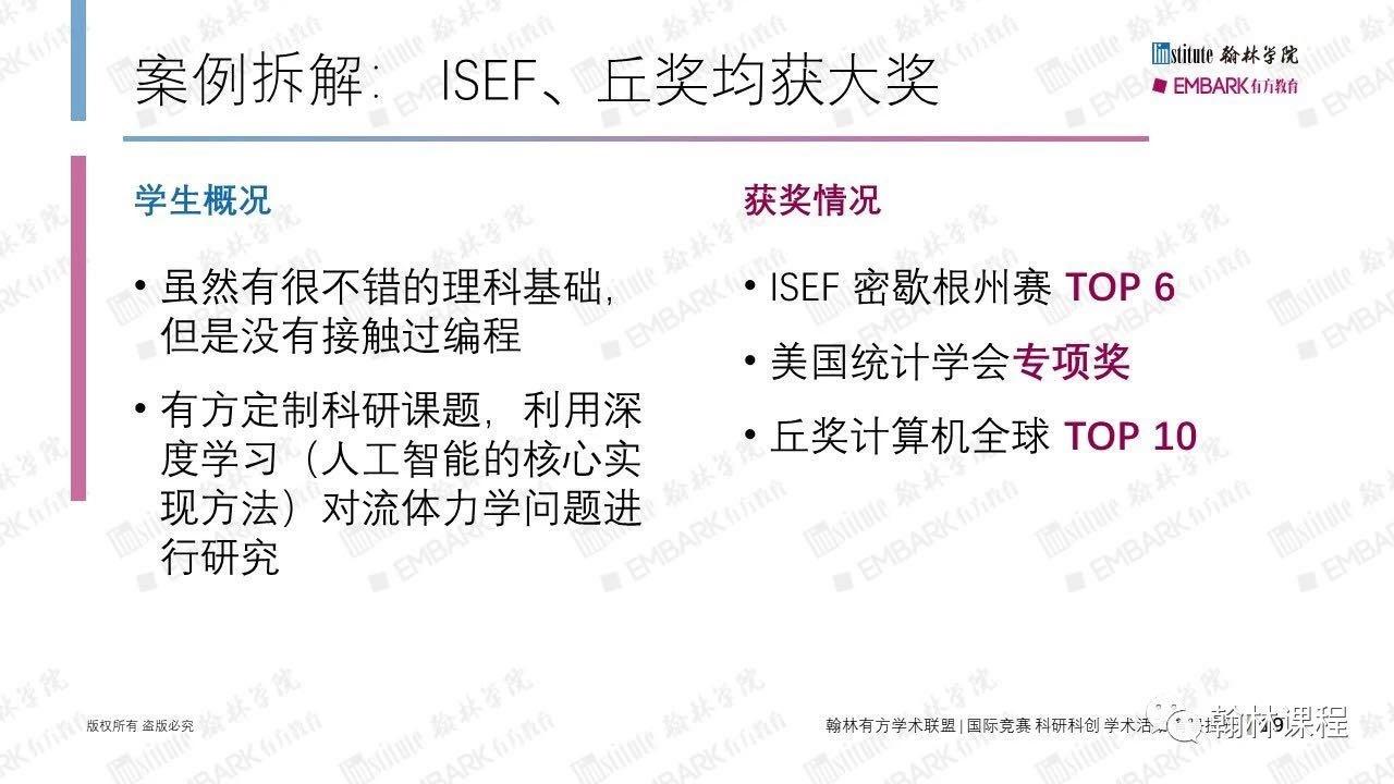 ISEF讲座PPT