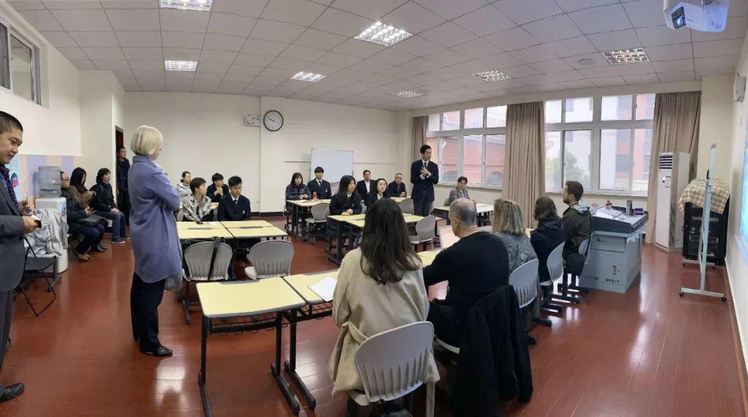 内涵引领,共生共长 ——加中贸易理事会记者团来访上海枫叶国际学校