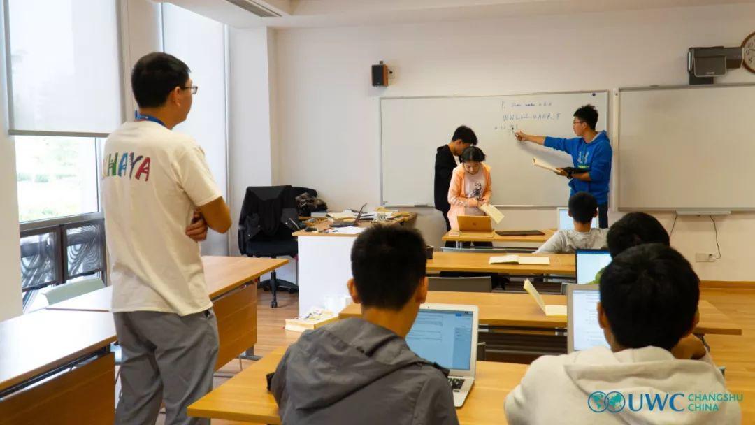 以学习为中心的教学,是如何在UWC的数学课堂上产生有益作用的?