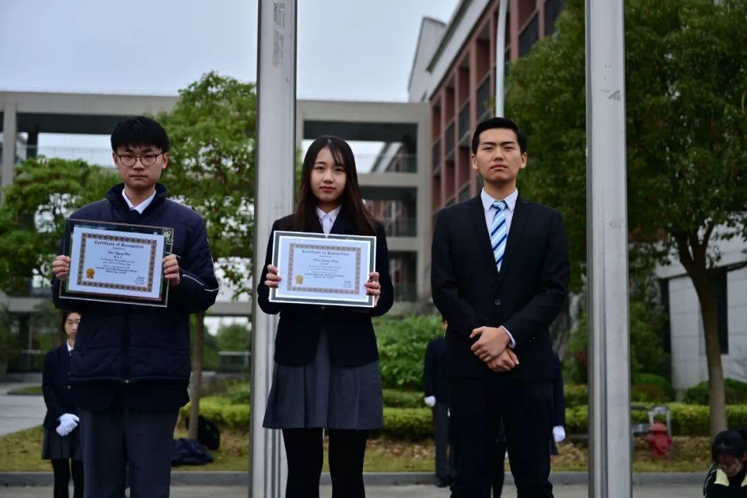思考与探索——Science Fair 科学展表彰丨上海枫叶国际学校第12周升旗仪式