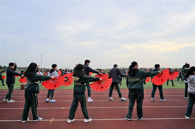抑扬顿挫,尽显中华文化——上海枫叶国际学校太极扇颁奖仪式