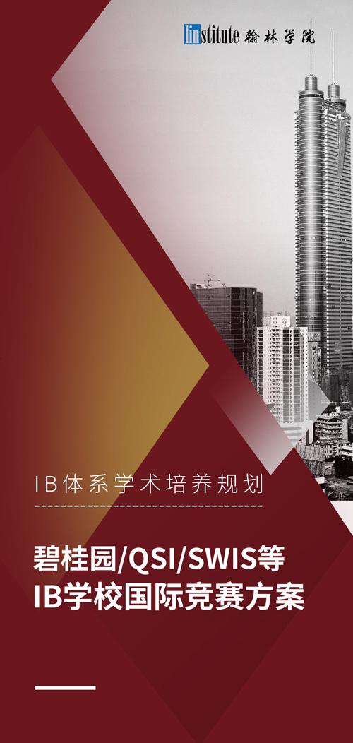 碧桂园QSI/SWIS等IB学校国际竞赛方案