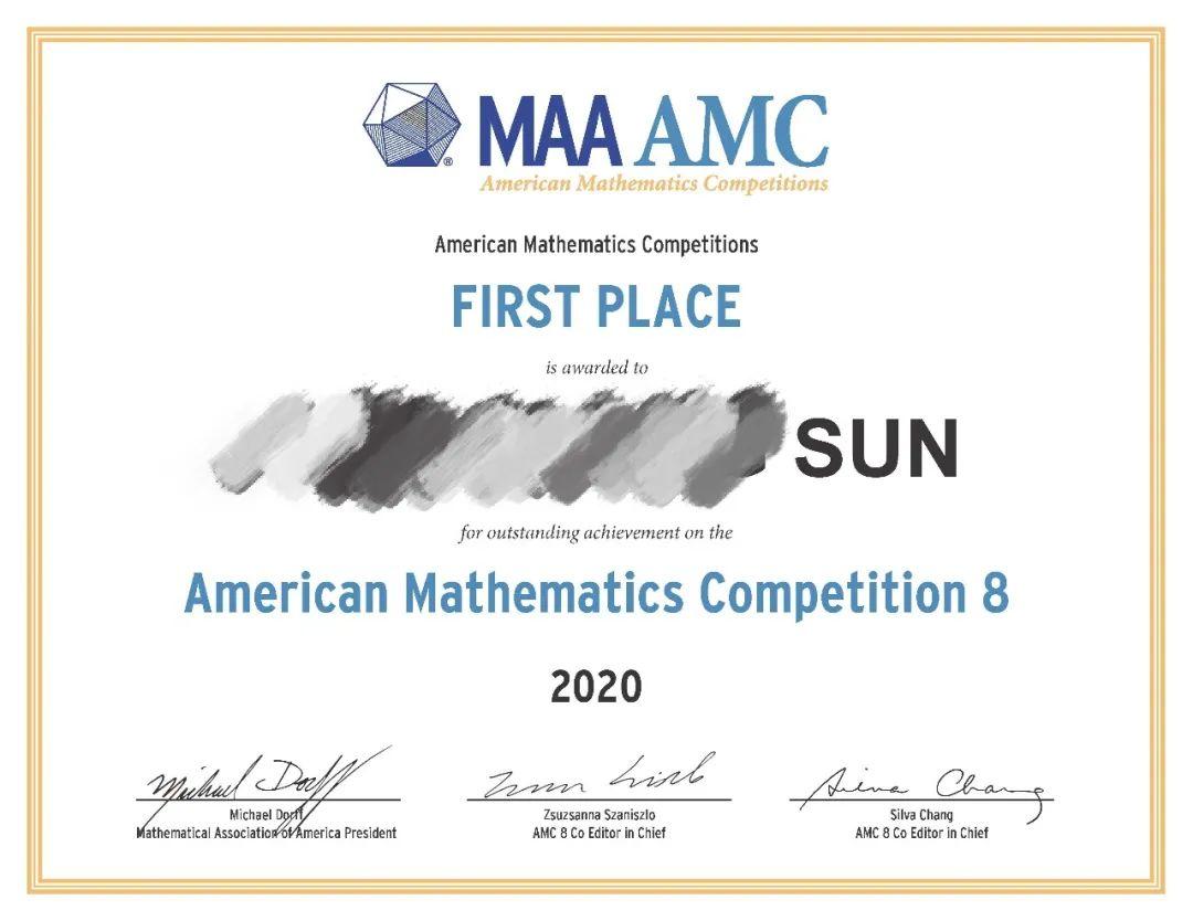 AMC8成绩公布!翰林学员再创辉煌,分数线超全球标准!