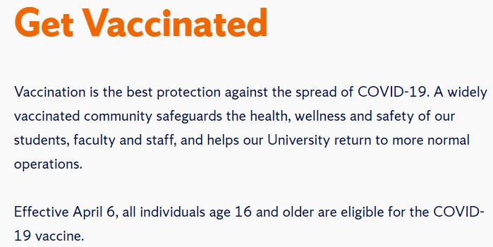 重要!布朗大学、东北大学等校秋季全面重启,所有学生必须接种疫苗!