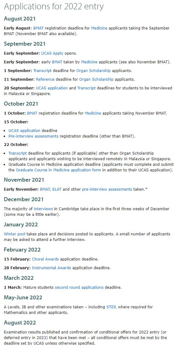 必读!剑桥大学官方给2022申请者的建议!