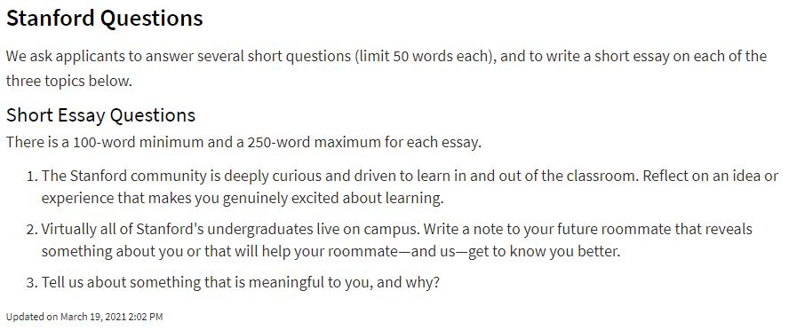 """失望!斯坦福/MIT等TOP名校最新文书题目,竟如此""""普通且简单""""?"""