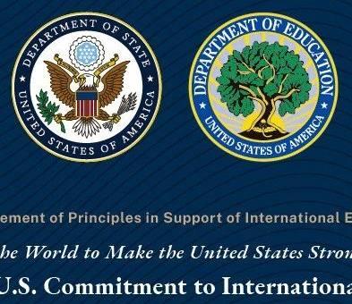 重大利好!美国首次发布《对国际教育的新承诺》,留美黄金时代来了!
