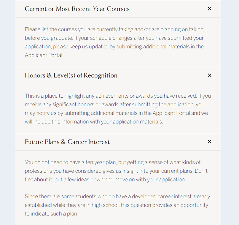 揭秘!Common App填写TIPS!高中生如何选课?哈佛官方都说那么明白了……